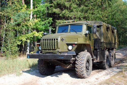 Урал-4320-0010-31 без лебедки